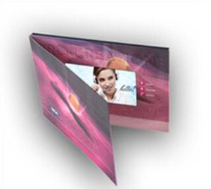 Custom Video Exhibition Invitation Card pictures & photos