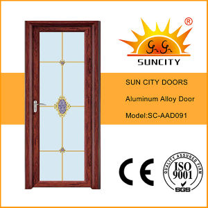 Cheapest Bronze Interior Glass Doors High Quality (SC-AAD091) pictures & photos