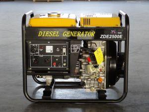 2kVA Open Type Portable Diesel Generator (ZDE2500X/E) pictures & photos