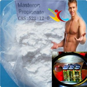 Raw Anabolic Androgenic Steroids Drostanolone Propionate 521-12-0 pictures & photos