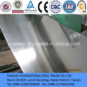 High Quality Dx51d (JIS3302) Galvanzied Steel Sheet pictures & photos