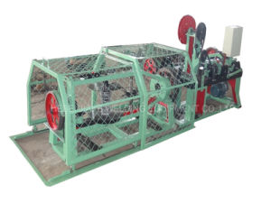 Factory Electronic Counting Carbon Steel Barbed Wire Machine pictures & photos