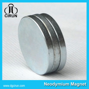 High Performance Sintered Permanent Disc Neo Magnet pictures & photos