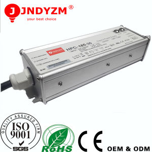 Aliuminum Waterproof IP65 Pressure Industry 185W LED Driver