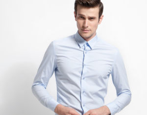 100% Cotton High Count Yarn Dress Shirt pictures & photos