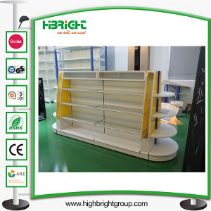 Cosmetic Gondola Shelving with LED Light pictures & photos