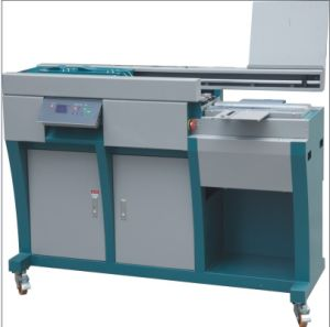 Professional Manufacturer Book Glue Binder with Side Gluing (WD-60HA4) pictures & photos