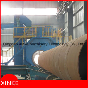 Steel Pipe Shot Blasting Dry Cleaning Machine pictures & photos