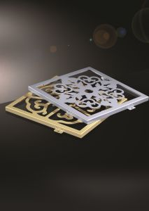 Engraved CNC Cutting Fashionable Aluminum Panel for Exterior or Interior pictures & photos