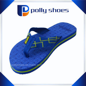 Rubber Slipper PE Flip Flop Brand Women pictures & photos