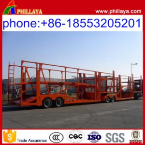 6-10cars Loading Car Transport Semi Trailer Car Carrier Trailer pictures & photos