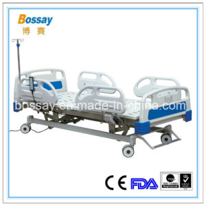 Folding Medical Hospital Bed with Four Functions Medical Bed Price pictures & photos