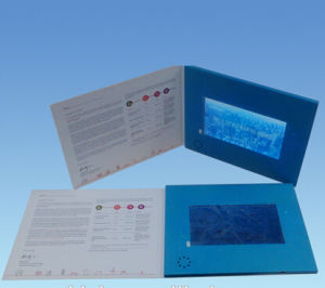 7inch OEM Advertising Video Card, Video Module, Video-in-Print pictures & photos