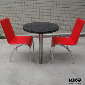 Kingkonree Solid Surface Stone Restaurant Table and Chair pictures & photos