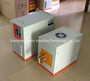 30kw/300kHz Induction Heating Machine for Heating Slice. Thin Metal Parts pictures & photos