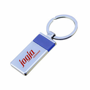 Promotion New Style Rectangle Keyring Gift with Customer Logo (F1002C)