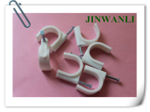 Cable Clamp Wiring Accessory Wire Clip Plastic Wall Nail pictures & photos