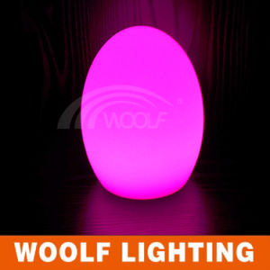Modern Luxury LED Battery Egg Shaped Table Lamp pictures & photos