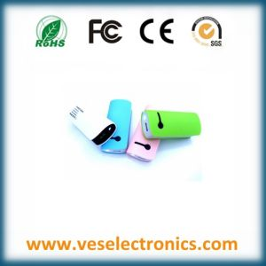 2015 Best Selling Colorful Mobile Power Bank ABS High Quality USB Charger Travel Charger Multiple Connectors Provided pictures & photos