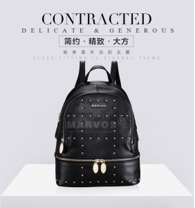 New Fashionable PU Leather Women Backpack with Hight Quality (BS10527)