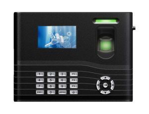 3-Inch TFT Fingerprint Time Attendance with Backup Battery pictures & photos