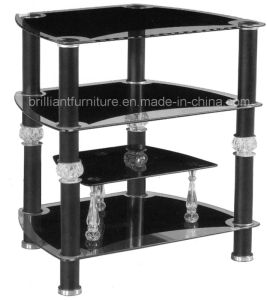 Glass Modern Living Room Furniture LCD TV Table Stand (BR-TV22)