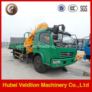 Best Hydraulic Truck with Crane with Knukled Boom pictures & photos