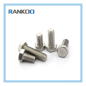 China Manufacture Stainless Steel DIN933 DIN931 Hexagon Head Bolts pictures & photos