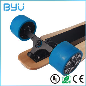 Fashion 4 Wheels Powerful Electric Skateboard with Ce/RoHS Certificates pictures & photos