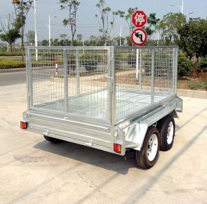 Cable Disc Brake International Tandem ATV Trailer (SWT-TT85) pictures & photos