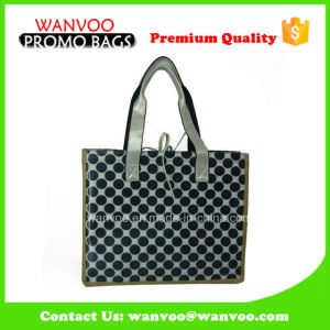 New Style China Supplier Eco-Friendly Handbag with Wave Point pictures & photos