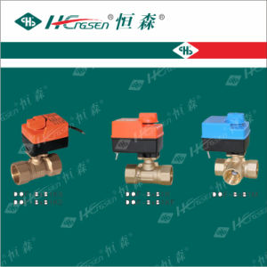 Motorized Ball Valve with 24V-Cap pictures & photos