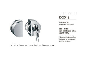 Xc-D2018 High Quality Glass Door Lock pictures & photos