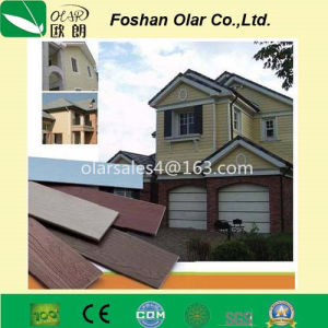 China Wood Type Fiber Cement Composite Siding Boards For