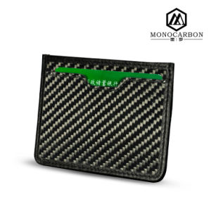 New Fashion High Quality Real Carbon Fiber ID Card Holder pictures & photos