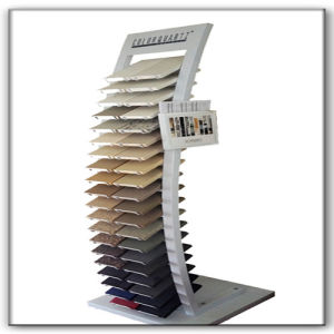 High Capacity Granite Marble Tile Metal Display Stand pictures & photos