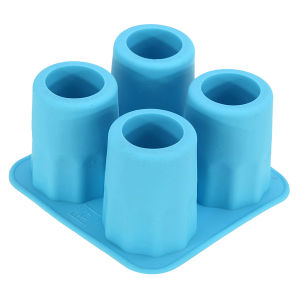 Food Grade Glass Shape DIY Customized Ice Mold, Silicone Ice Cube Trays pictures & photos