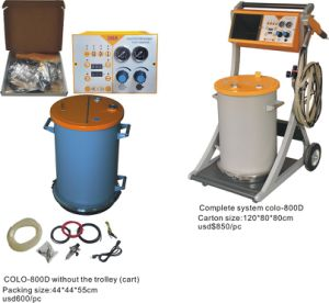 Powder Coating Equipment (COLO-800D) pictures & photos