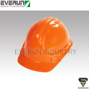 ER9108 CE EN397 Hard cap PE safety helmet pictures & photos