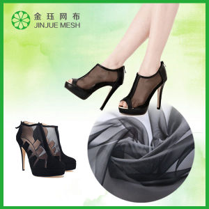 Shoe Mesh Fabric Printed Net Fabric Upholstery Fabric