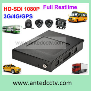 4 Channel in Vehicle Video Surveillance System with Camera & Mobile DVR & GPS Tracking pictures & photos