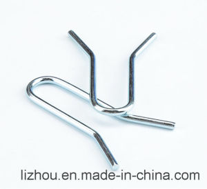 Large Coil Wire Forming with Blue-White Zinc Plating pictures & photos