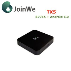 Factory Price for Android 6.0 Amlogic S905X Smart TV Box Tx5 pictures & photos