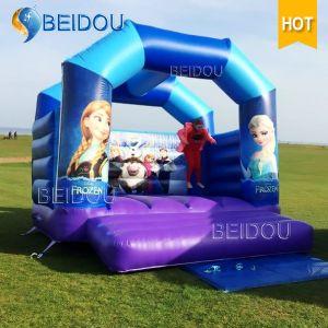 Hotsale Durable Frozen Bounce Castle Jumping Inflatable Bouncer Bouncy Castle