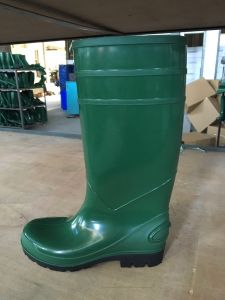 PVC Rain Boots for Women, High Heel Fashion Rain Shoes pictures & photos