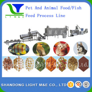 High Quality Automatic Bulk Extruded Aquarium Fish Food Machine pictures & photos