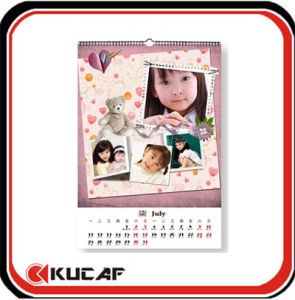 Spiral Bound Wall Calendars pictures & photos