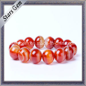 Natural Brazil Red Stones for Bracelet Jewelry pictures & photos