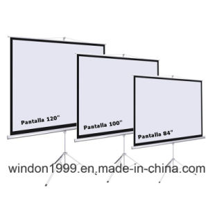 11 Years OEM&ODM Manufacturer Tripod Projector Screen pictures & photos