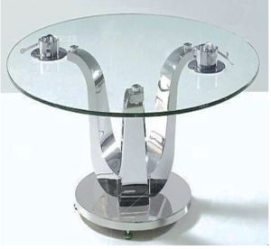 Clear Tempered Table Glass (model 01) pictures & photos